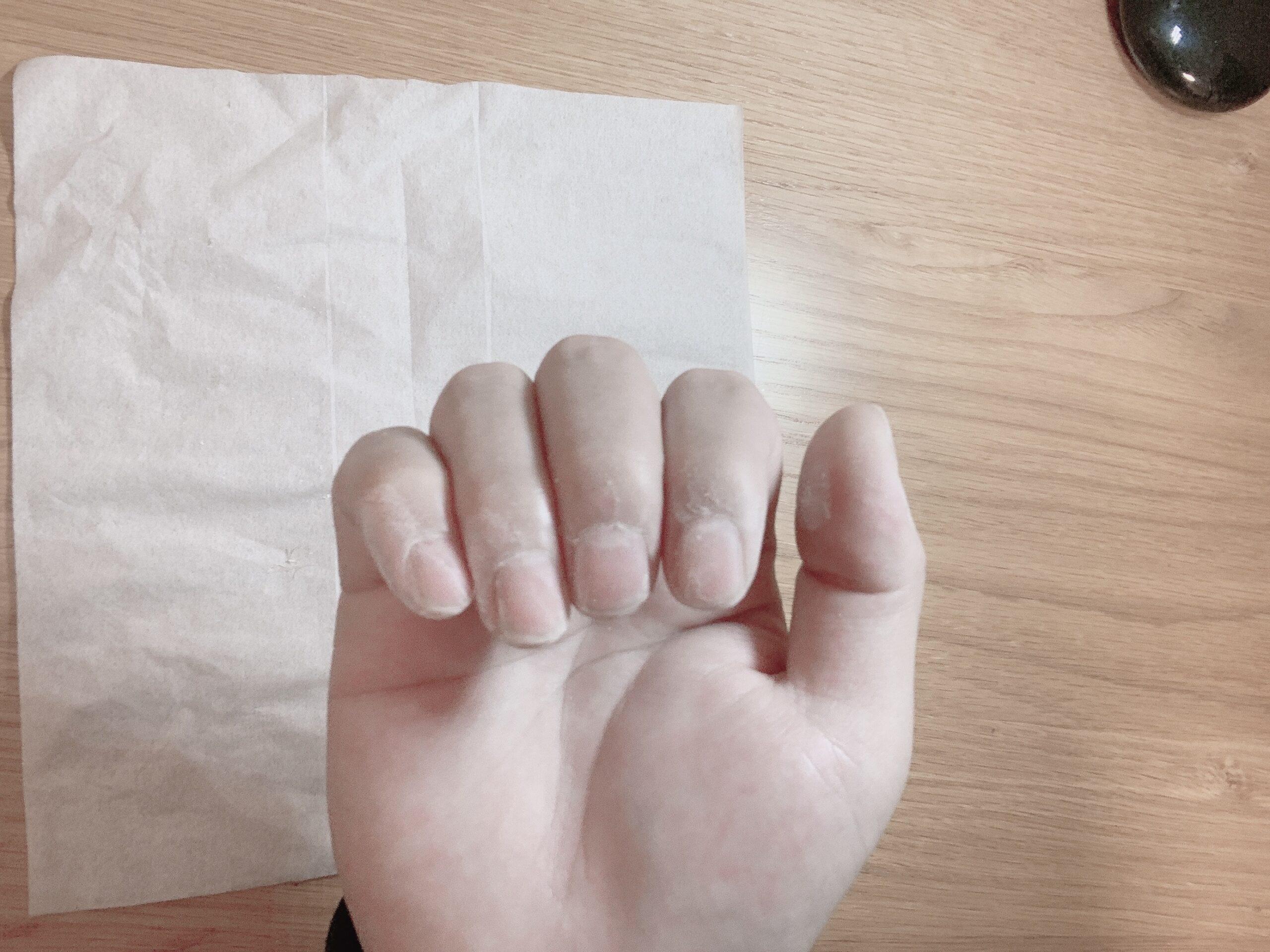 爪磨き 男性
